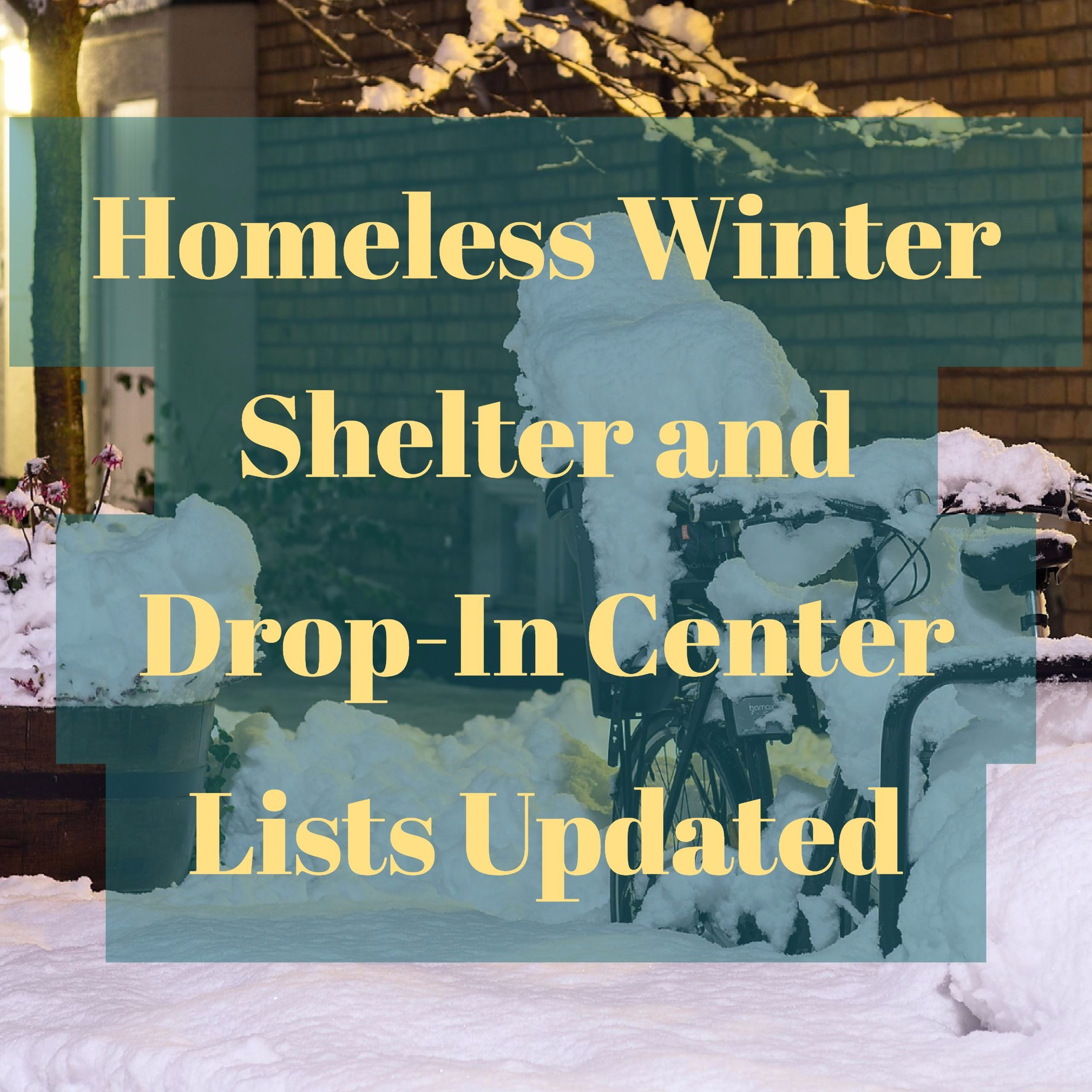 Winter Shelter Lists Graphic