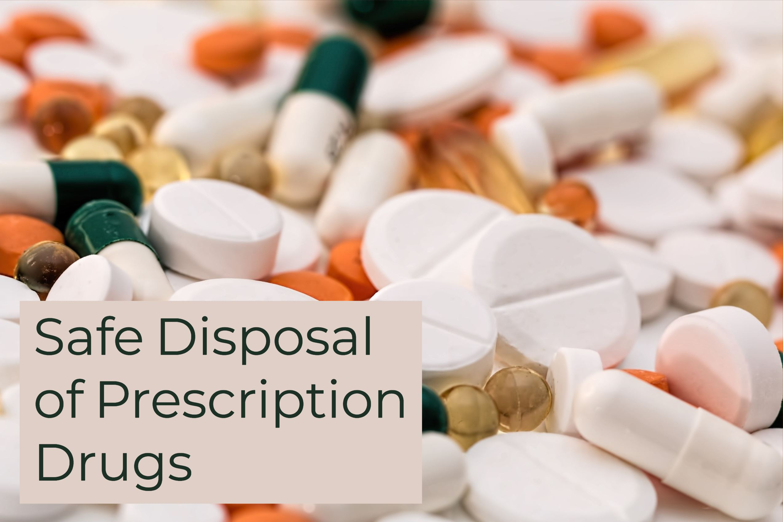 Prescription Drug Disposal