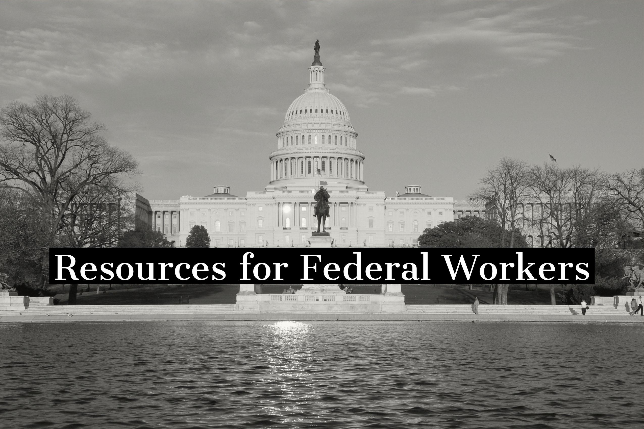 Resources for Federal Workers