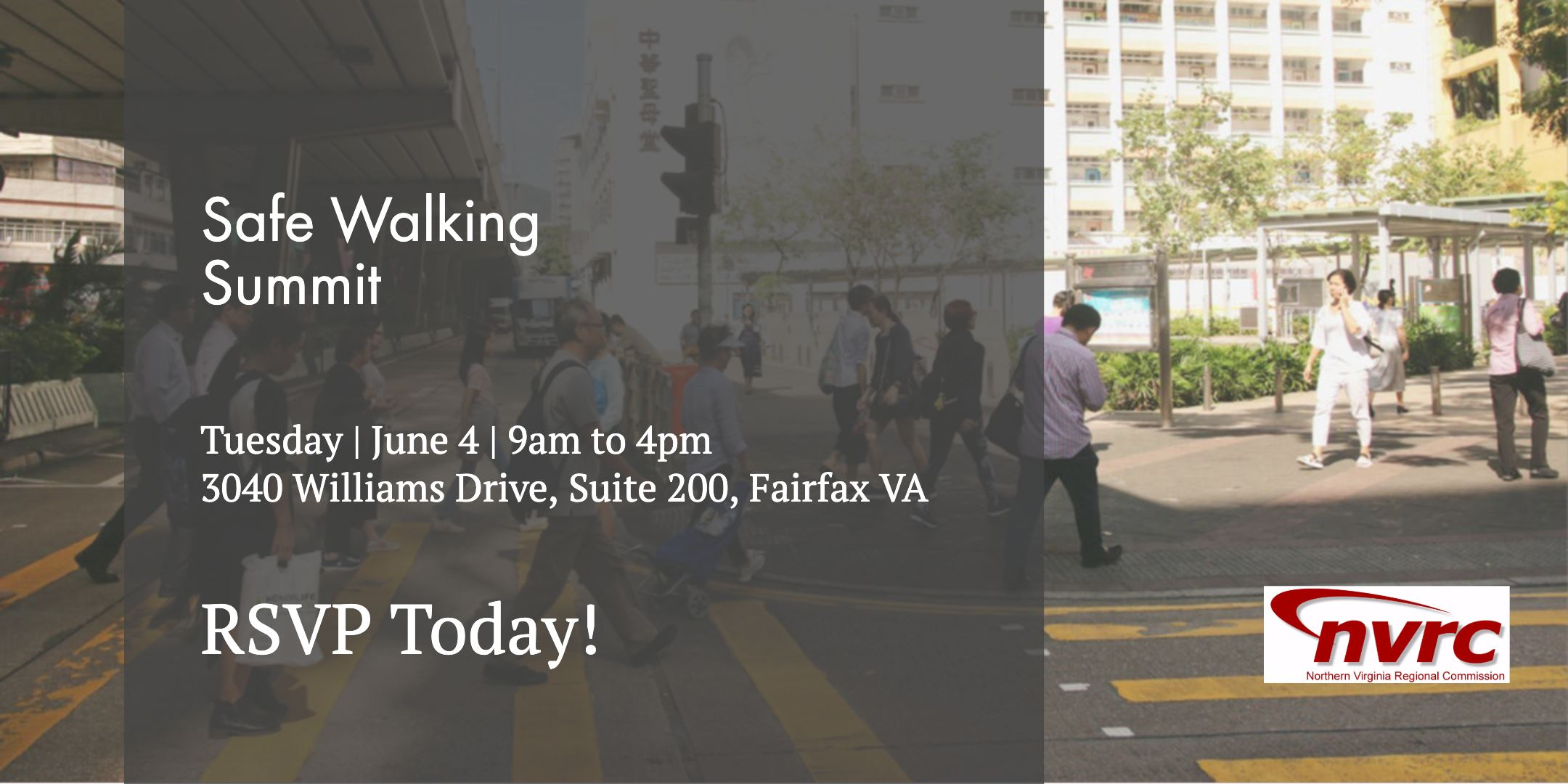 Safe Walking Summit Graphic