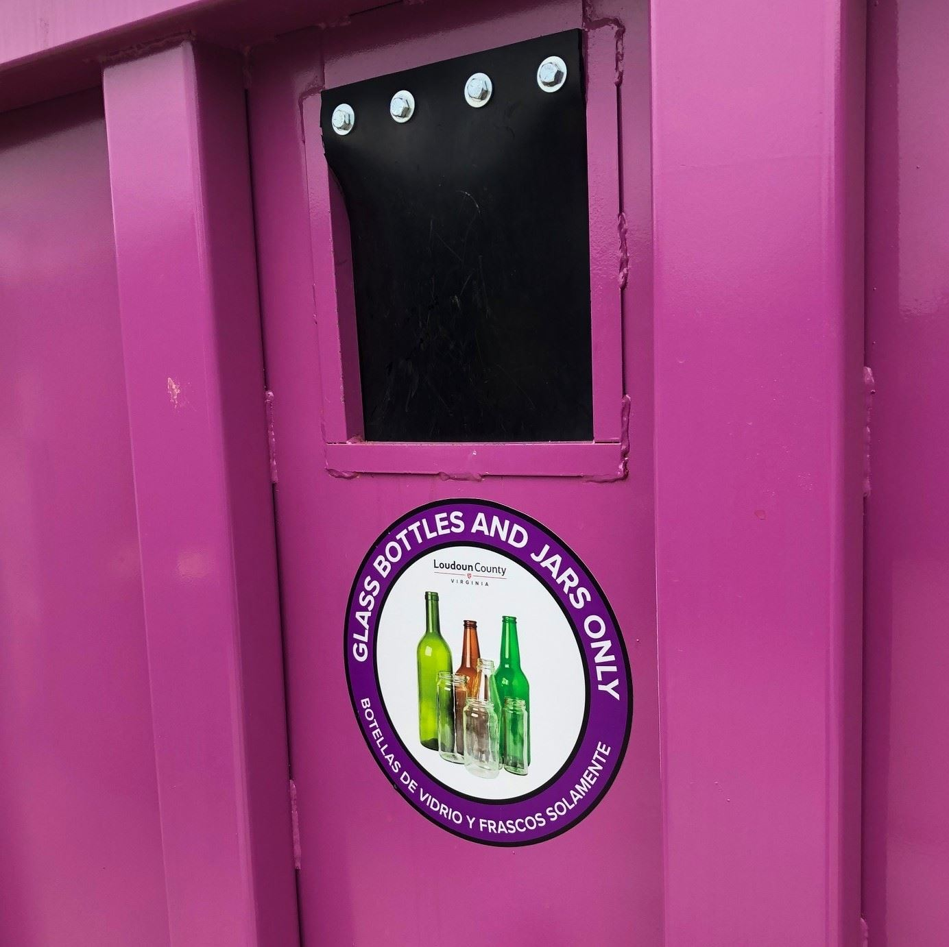 Picture of Purple Dumpster