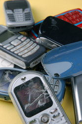 Photo of Old Cell Phones